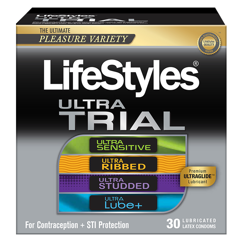 LifeStyles Ultra Latex Condom Trial Pack, 30 Count ANS21272