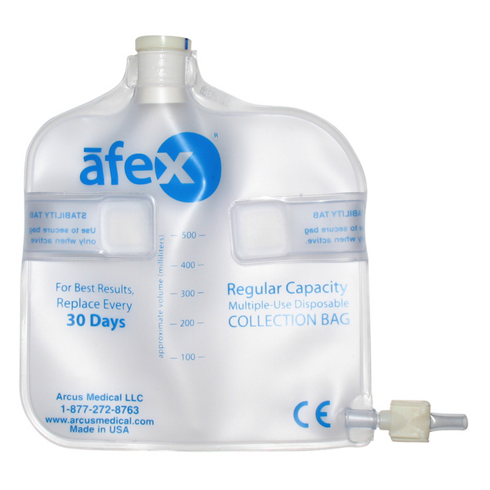 Afex Collection Bag, Direct Connect, 500ml, Standard, Non-Vented ARSA400B