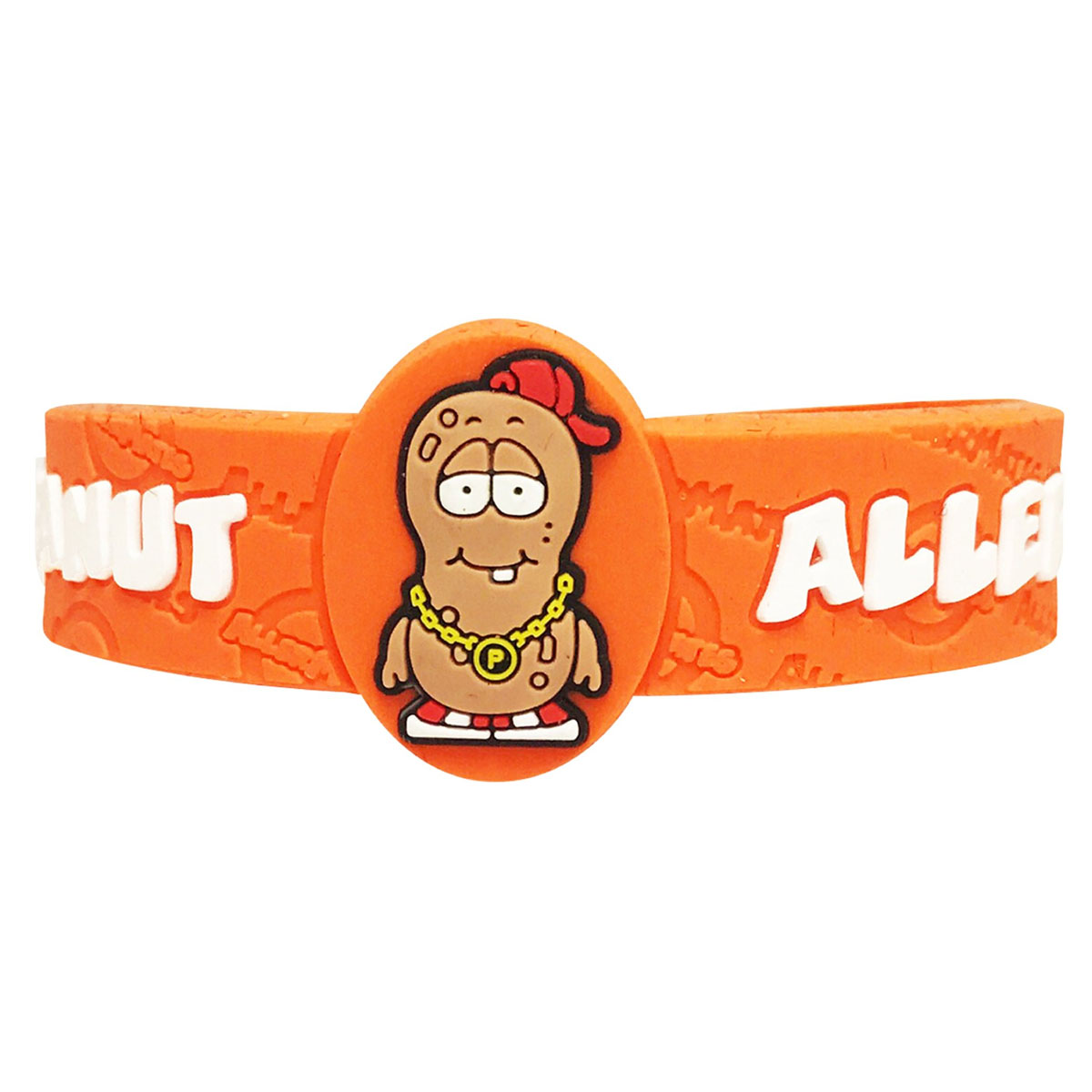 Children's Medical Alert Bracelet for Peanut Allergies. AWABR10001