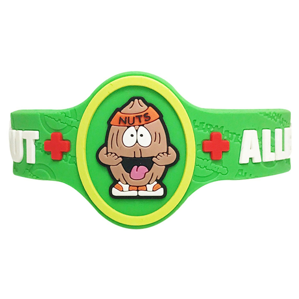Children's Medical Alert Bracelet for Tree Nut Allergies AWABR10018