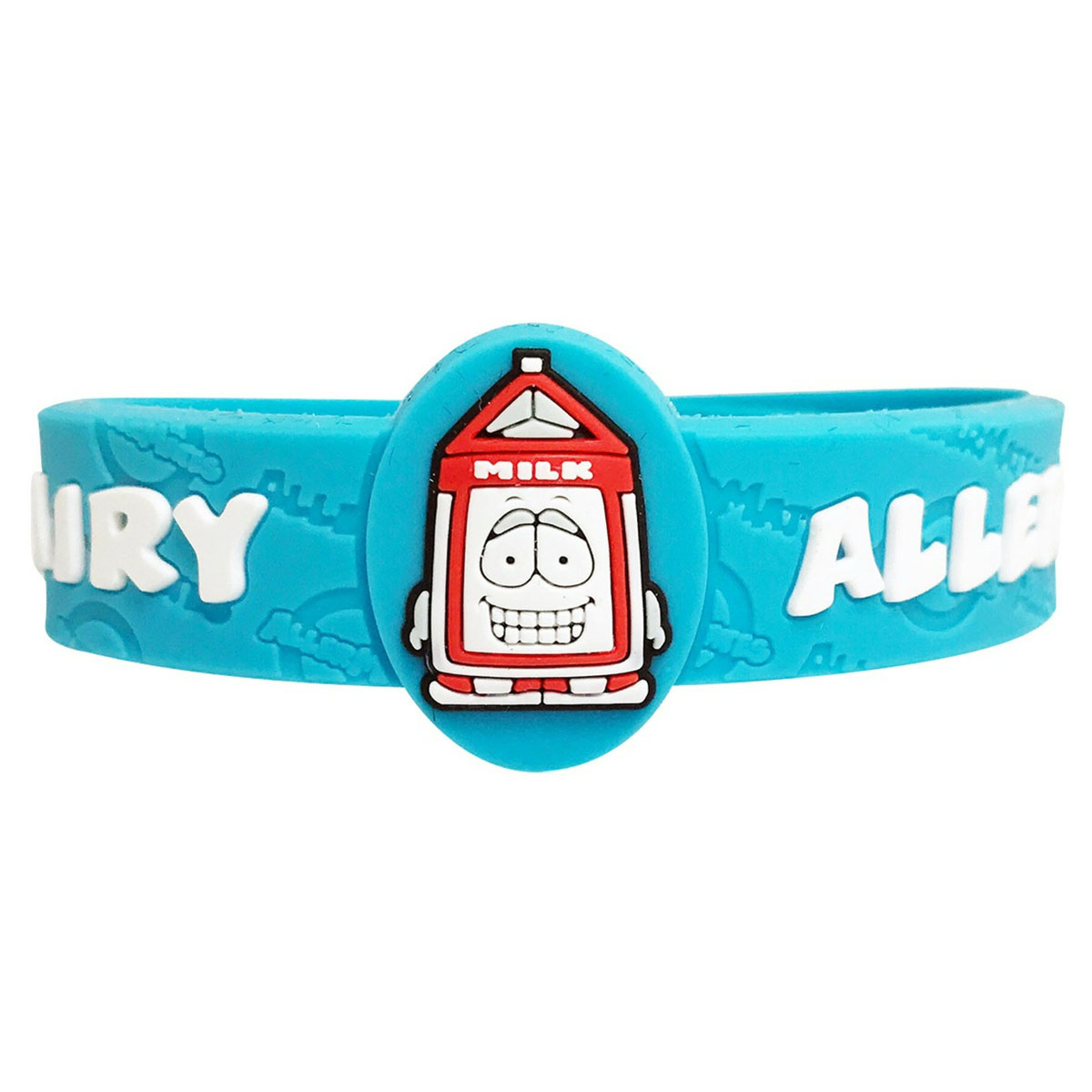 Children's Medical Alert Bracelet for Dairy Allergies AWABR10025