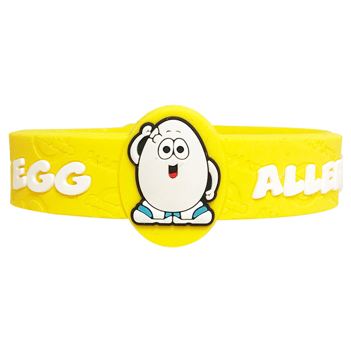 Children's Medical Alert Bracelet for Egg Allergies AWABR10049