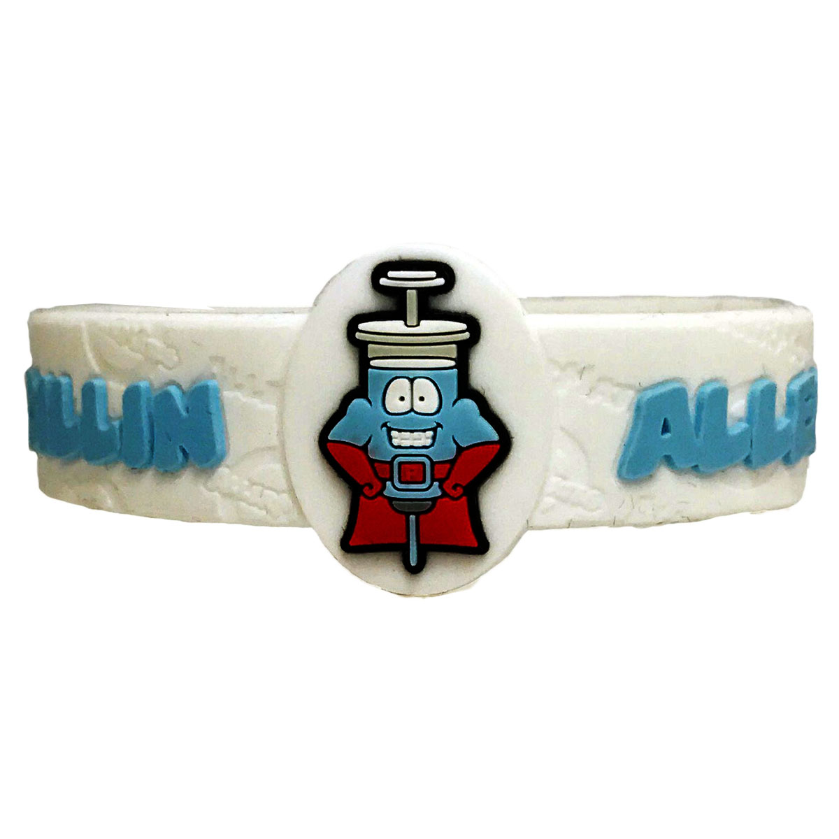 Children's Medical Alert Bracelet for Penicillin Allergies AWABR10131