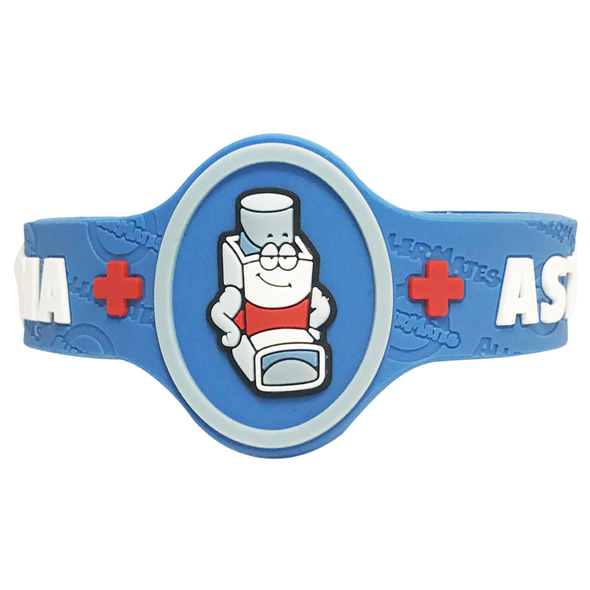 Children's Medical Alert Bracelet for Asthma AWABR10155