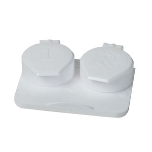 Apex Medical Econo Mate™ Contact Lens Case, For Hard/Soft Lenses AYK1010