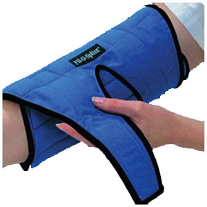 Alimed Inc Pil-O-Splint® Elbow Support One Size Fits All, Machine Wash, Padded Cotton AZGM51329