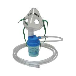 Pediatric Aerosol Mask w/Nebulizer & Tubing BF64095