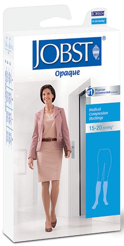 Knee-High Firm Opaque Compression Stockings Medium, Black BI115133