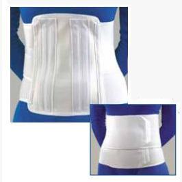 Deluxe Lumbar Sacral Support, Med/Lrg, White BI31101607