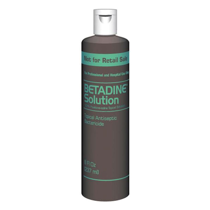 Betadine Solution 10% 8 oz. Bottle BUBSOL8P