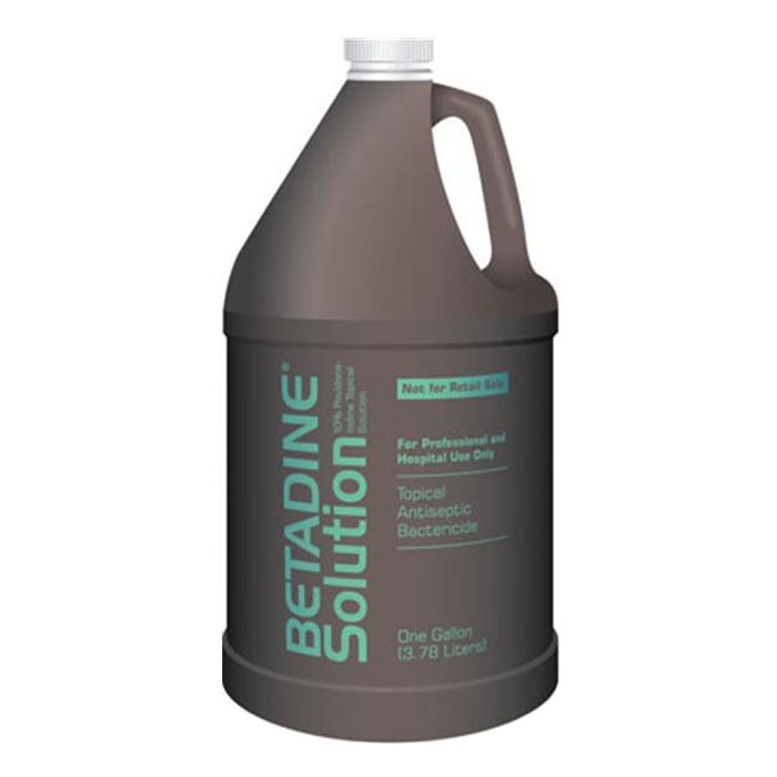 Betadine Solution 10% 1 Gallon Bottle BUBSOLG1