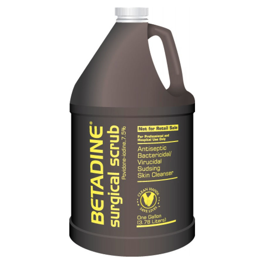 Betadine Solution 7.5%, 1 Gallon Bottle BUBSUR1G