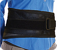 """Pull-It Back & Abdominal Support, 32""""""""-51"""""""", Black BY99505"""