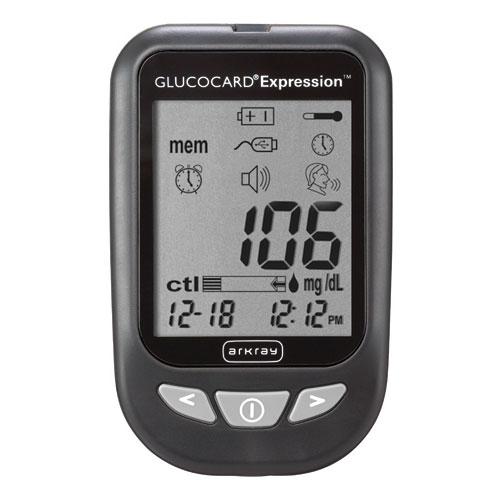 Glucocard Expression Blood Glucose Meter Kit CJ571100