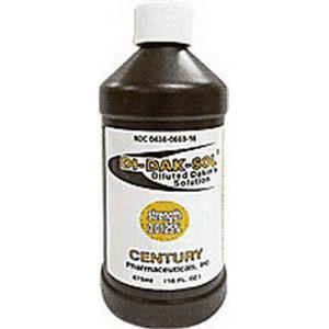 Century Pharmaceuticals Di-Dak-Sol Diluted Dakin's Solution 0125% 16Oz CK0436066916