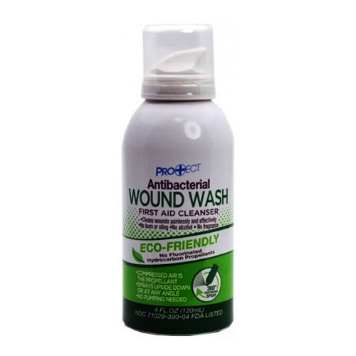 Protect Antibacterial Wound Wash, 4 oz COSBOVWW4C