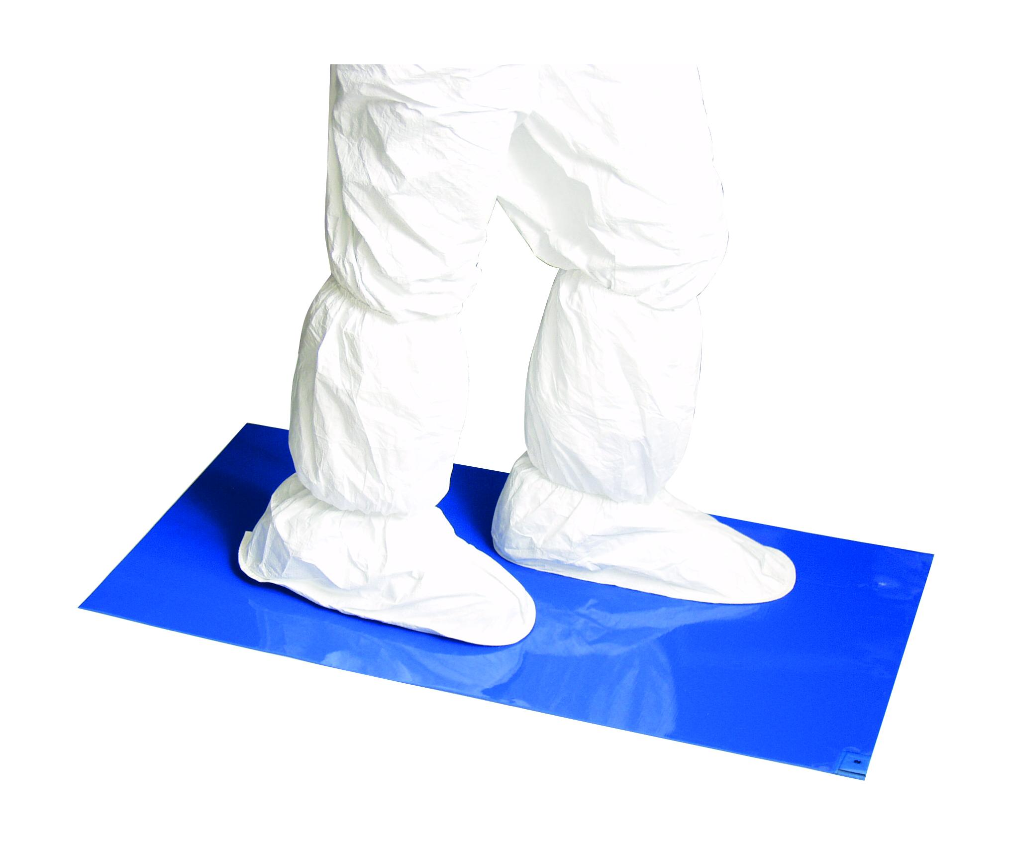 "Connecticut Clean Room Polytack™ Entrance Mat 24"" x 45"" Polyethylene Film CTCK112B"