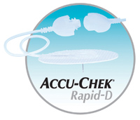 "Accu-Chek® Rapid-D Infusion Set 24"" Tubing, 28G x 8mm Cannula, 90° Insertion Angle, Self-adhesive DI4541120001"