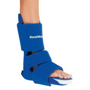 "DJO LLC Dorsiwedge™ Night Splint Medium, Men's Shoe Size 6-1/2"" to 9-1/2"" and Women's Shoe Size 7 "" to 10"", Soft DJ7981405"