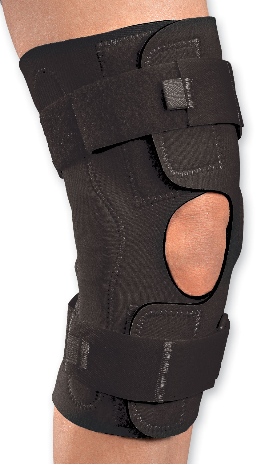 "DJ Orthopedics Procare Reddie™ Knee Brace with Hinges Large, 20-1/2"" to 23"" Circumference DJ7982397"