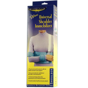 Bell-Horn Deluxe Shoulder Immobilizer, Universal Up to 52'' DJBH84100