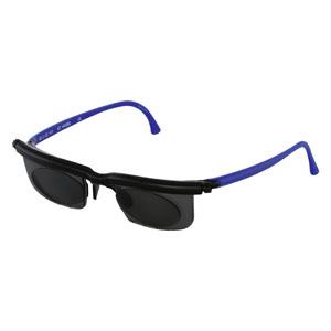 Adlens Sundials™ Instantly Adjustable Eyewear Sunglasses Black and Blue Frame DKEM02SBKBU