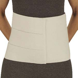 "DeRoyal 4-Panel Abdominal Binder Large, 12"" L, 63"" to 74"" Circumference DR13653008"
