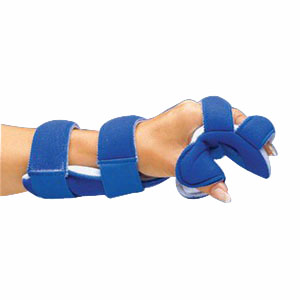 "DeRoyal LMB Air-Soft™ Resting Hand Splint Large, 3-3/8"" to 3-3/4"", Left Hand, Non-sterile DR325DL"