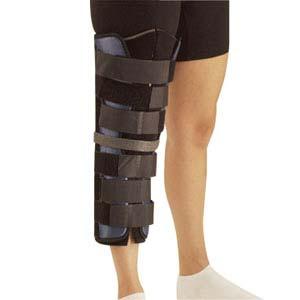 "Tietex Tri-Panel Knee Immobilizer, Universal, 19"""", 12"""" - 24"""" Circumference DRA143000"