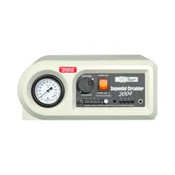 """Bio Compression Systems Model SC-2004 Sequential Circulator 5-1/2"""" H x 12"""" W x 8"""" D, Weight 6lbs, Pressure Range 0 to 125mm Hg, Electrical Rating 120 VAC, 60 HZ, .5 A, Cycle Time: 18 secs/Chamber, Bi-lateral Operation, Inflation:72 secs, Deflation: 18 sec DWSC2004"""