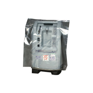 """Elkay Plastics Low Density Polyethylene Equipment Cover 21"""" L x 18"""" W, 15"""" Side Gusset, Clear, 1 mil Thickness, Open Ended Closure EKBOR181521"""