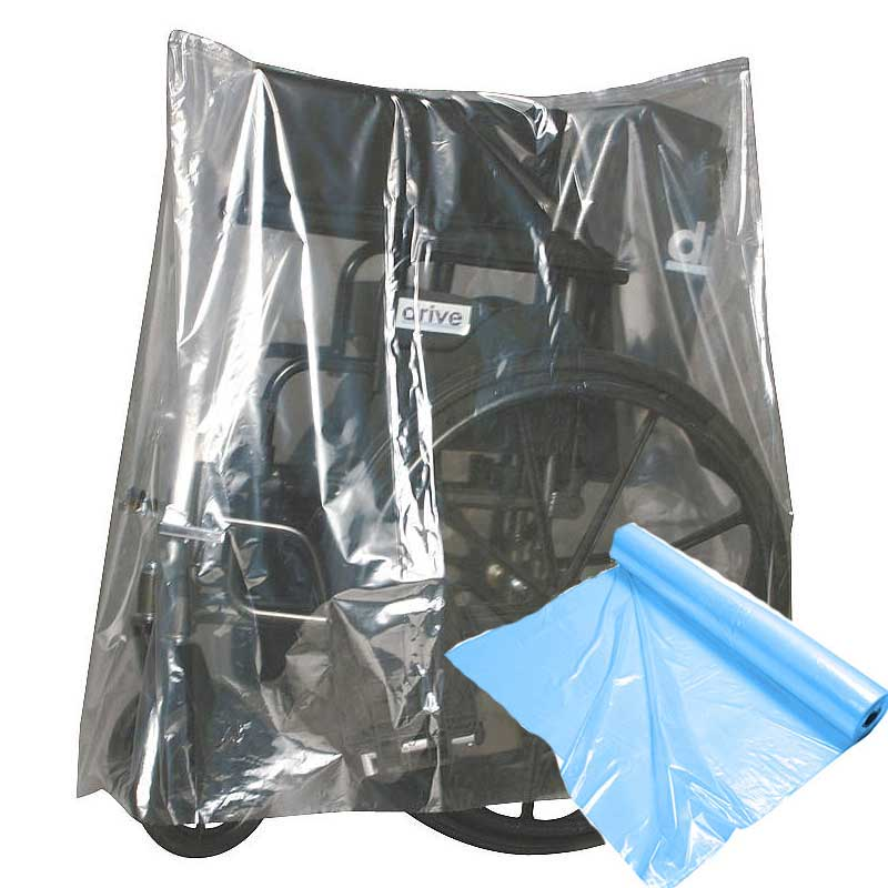 "Elkay Equipment Bag and Cover, Open Ended Closure, 28"" x 22"" x 35"" Blue Tint EKBOR282235B"