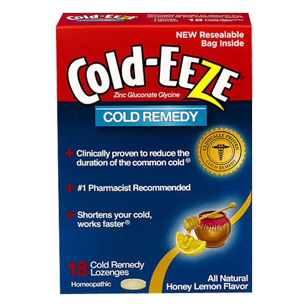 Cold-EEZE Cold Remedy, Honey Lemon, 18 ct. EMH30125048