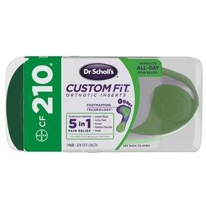 Dr. Scholl's Custom Fit Orthotic Inserts CF 210, One Pair EMH85706640