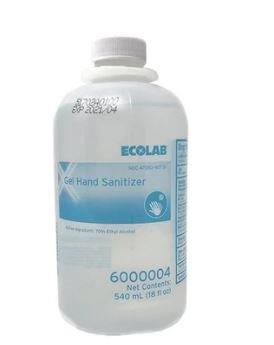 Gel Hand Sanitizer, 18 oz EQ6000004