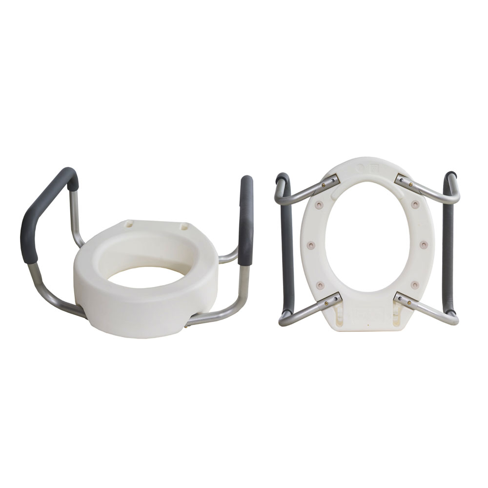 Toilet Seat Riser with Removable Arms, Standard ESB5082
