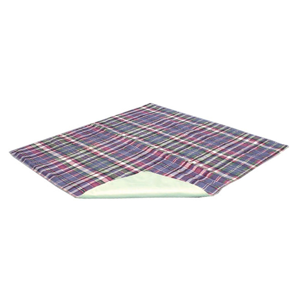 "Quik Sorb Plaid Reusable Underpad 24"""" x 36"""", Bulk 3 ESC2011B3"