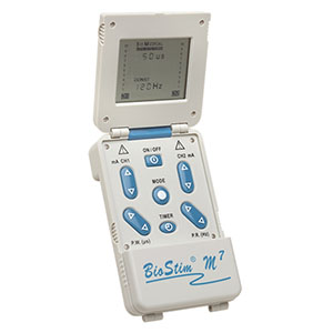 Biostim® M7 Digital TENS Unit Flip-Top Design, 7 Modes of Operation FAKBSM7