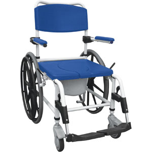Aluminum Rehab Shower Commode Chair FGNRS185006