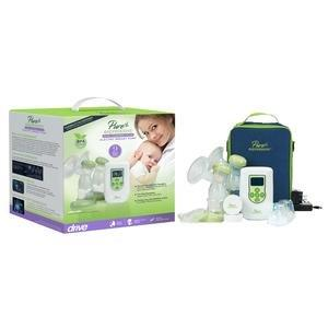Pure Expressions Double Electric Plus Breast Pump with Designer Carry Bag FGRTLBP2000