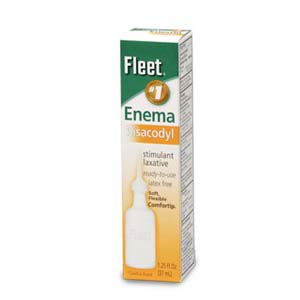 Fleet Bisacodyl Enema 1-1/4 oz. FL750