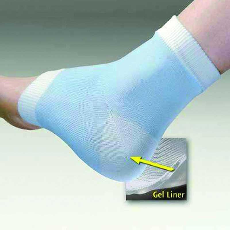 Pedifix Footcare Visco-Gel® Heel-So-Smooth® Heel Sleeves Universal, Nylon FOTP800