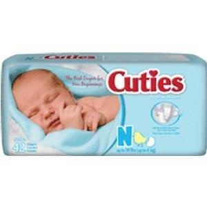 Prevail Cuties Baby Diapers Newborn FQCR0001