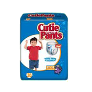 Cuties Training Pants for Boys 2T-3T, up to 34 lbs. FQCR7005