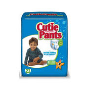 Cuties Refastenable Training Pants for Boys 2T-3T, up to 34 lbs. FQCR7007