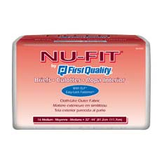 "Nu-Fit Protective Underwear Large 44"" - 58"" FQNU513"