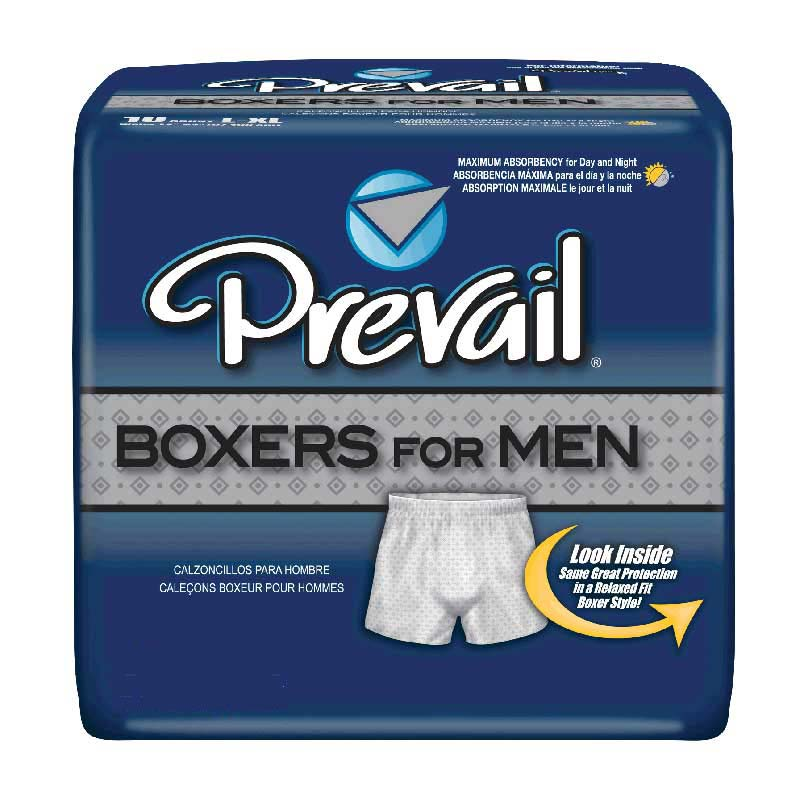"Prevail Boxers for Men Medium Waist 28"" - 40"" FQPBM512"