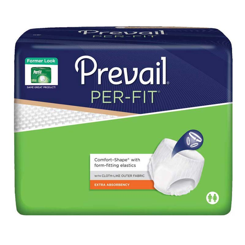 "Prevail Per-Fit® Protective Underwear, Pull Up Style, XL (58"" to 68"") FQPF514"