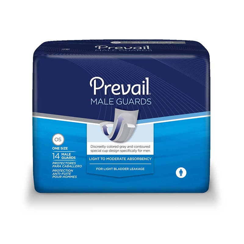 Prevail Male Guards with Adhesive Strip FQPV811