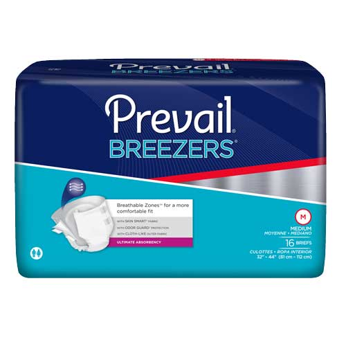 "Breezers by Prevail Brief Medium 32"""" - 44"""" FQPVB0122"